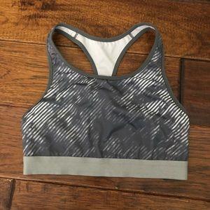 Old navy grey athletic sports bra - s